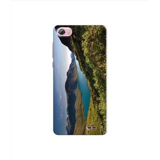 PREMIUM STUFF PRINTED BACK CASE COVER FOR LYF WATER F1S DESIGN 5235