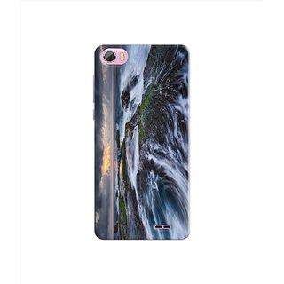 PREMIUM STUFF PRINTED BACK CASE COVER FOR LYF WATER F1S DESIGN 5243