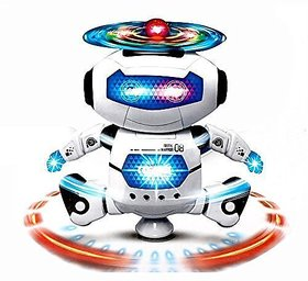 Krasa Dancing Robot with 3D Lights and Music Multi Color