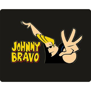 JOHNY BRAVO Designed Mouse Pad by EZELLOHUB