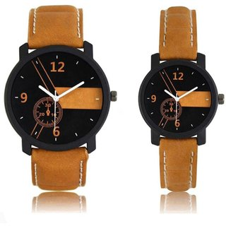Trendy Look Couple Exclusive Analog Watch