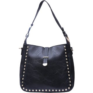 Fiona Trends Black Shoulder Bag For Women
