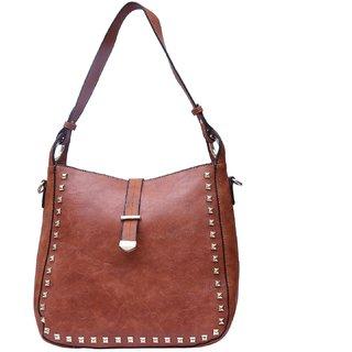 Fiona Trends Red Brown Shoulder Bag For Women
