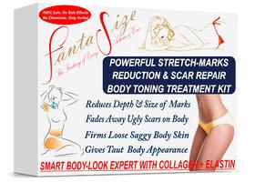 Stretch Mark Removal Serum, Scar Removal, Anti-Marks, Zero Stretch Marks with Q10, Collagen, Elastin, Vitamin C  E