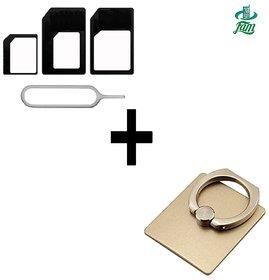 KSJ Sim Adaptor + Ring Holder combo