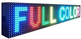 led scrolling display 1/2 x 3'ft (full color)