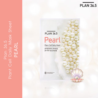 Plan 36.5 Plant Cell Daily Mask Pearl 1 Sheet