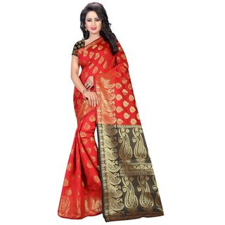 RICH PALLU 2H (COTTON SILK JACQUARD SAREES) NEW BOLLYWOOD-INDIAN-DESIGNER-PARTY-WEAR-ETHNIC Peria-AppareL