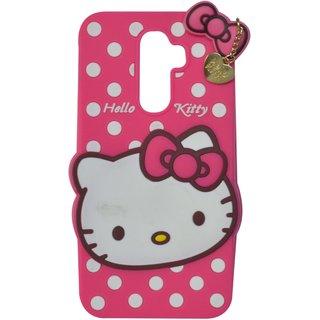 half off fa1cc 04022 Style Imagine Hello Kitty 3D Designer Back Cover Lenovo K8 Note - Pink