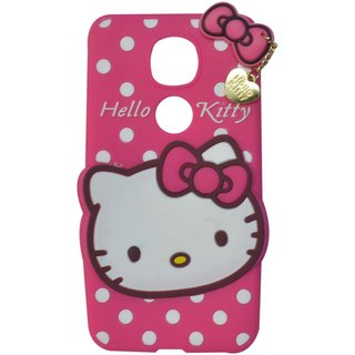 Style Imagine Hello Kitty 3D Designer Back Cover LeEco Le 2 - Pink