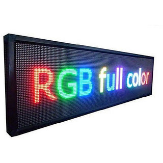 led scrolling display 2 x 4'ft (full color)multi language display board