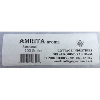 Cottage Industries sambrani Incense Sticks 100sticks - Set of 2
