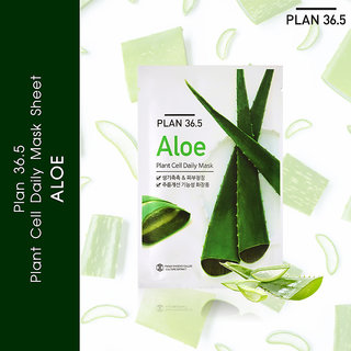 Plan 36.5 Plant Cell Daily Mask Aloe 1 Sheet