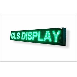 led scrolling display 1/2 x 5'ft multi language display board
