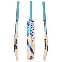 Retail World SP Blue Popular Willow Tennis Cricket Bat  (Pack Of 1 )