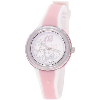 Sonata Super Fibre Analog White Dial Womens Watch - NF8962PP01J