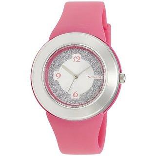 Sonata Fashion Fibre Analog Silver Dial Womens Watch - NF8991PP01J