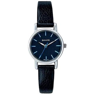 Sonata Analog Black Dial Womens Watch - 8976SL04J