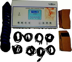 8 CHANNEL BODY SHAPER SLIMMING MACHINE Electrotherapy Device  (pcd 233A)