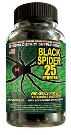 Black spider fat burner caps