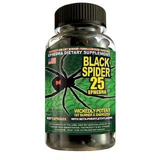 Black spider fat burner caps