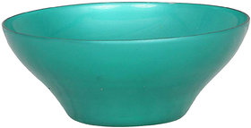 adaraforever Exclusive Metalic Rediant Green Glass Bowl Size Small 1Pc. SRE 3031