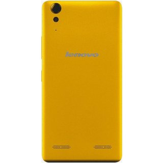 BeingStylish Back Replacement Battery Back Door Panel For Lenovo A 6000 Yellow