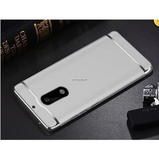 Nokia 6 Plain Cases BeingStylish - Silver