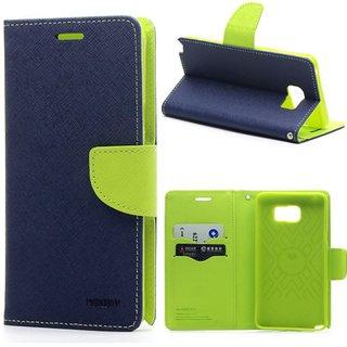 Samsung Galaxy J7 Max Flip Cover by Mercury - Blue