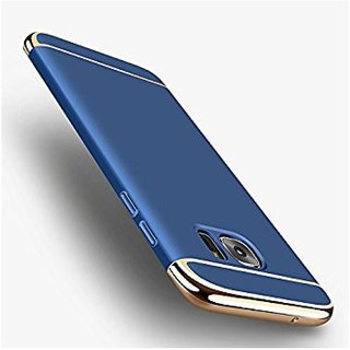 Samsung Galaxy J7 Max Plain Cases Ipaky - Blue