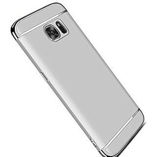 Samsung Galaxy C9 Pro Plain Cases BeingStylish - Silver