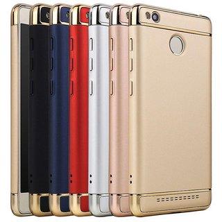 Redmi 3s Prime Plain Cases BeingStylish - Golden
