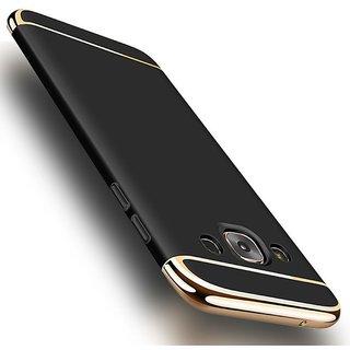 Samsung Galaxy J7 Plain Cases Ipaky - Black