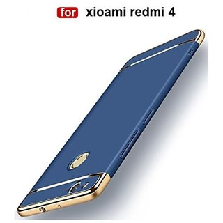 Redmi 4 Plain Cases BeingStylish - Blue