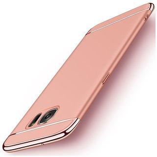 Samsung Galaxy J7 Max Plain Cases BeingStylish - Rose Gold