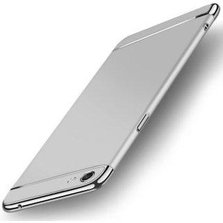vivo V7 plus Plain Cases BeingStylish - Silver