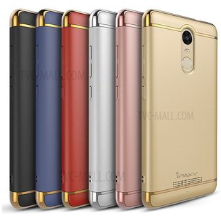 Redmi Note 4 Plain Cases Ipaky - Golden