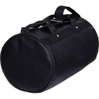 04784115bd Buy DE Vintage Black Leather Rite Gym Bag (Black