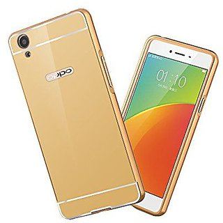 Oppo A37 Cover by Galaxy Plus - Golden