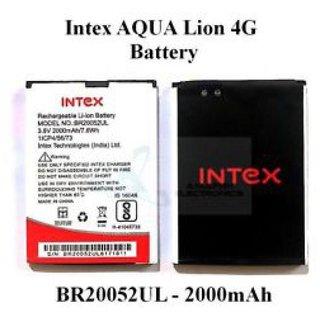 Intex Aqua Lions 4G 2000 mAh Battery by Gurunanak Enterprises