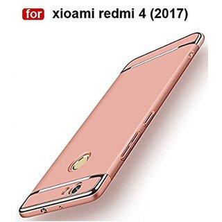 Redmi 4 Plain Cases Worth IT - Rose Gold