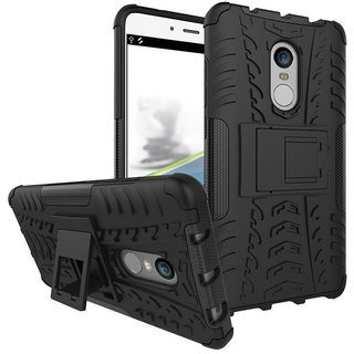 Redmi Note 4 Shock Proof Case mhub - Black