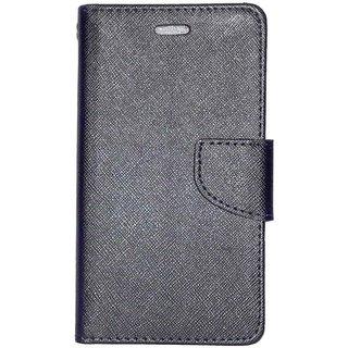 Redmi Note 3 Flip Cover by Moblo - Black