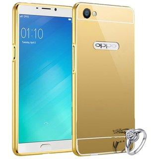 Oppo A57 Shock Proof Case Mintzz - Golden