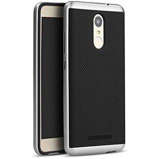 Redmi Note 4 Plain Cases Mussa - Silver