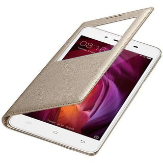 Redmi Note 4 Flip Cover by Karshni - Golden