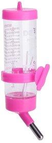 125 ml Leak Proof Water Bottle for Hamster / Dwarf / Gerbil / Mice / Guinea Pig / Ferret / Rabbit (Pink)