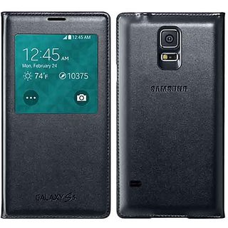 Celmate Flip Cover For Samsung Galaxy S5 - Black