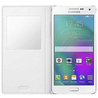 Samsung Flip Cover for Samsung Galaxy A5 (white)