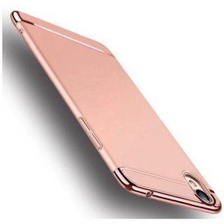 Oppo A37 Plain Cases Ipaky - Rose Gold